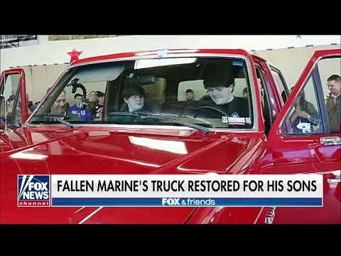 Fallen Marine&#;s Beloved Ford Bronco Restored, Given as Gift to Teenage Son