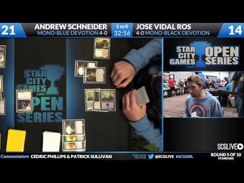 SCGORL - Standard - Round 5 - Andrew Schneider vs Jose Vidal Ros