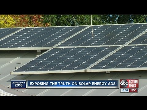 Exposing the truth on solar energy ads