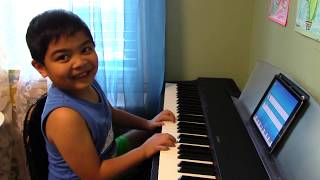 "6-year-old Renzo Plays ""A Thousand Years"" with Simply Piano by JoyTunes"