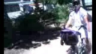 tour du camping cap sud en vélo
