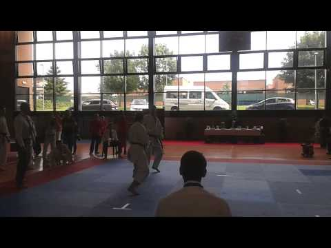 2015 JKA Afro Eurasia Qualifications Indiv Kumite: Ireland vs Italy