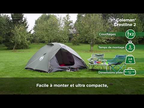 Coleman® Crestline™ 2 L - Tente Aventure Pour 2 Personnes