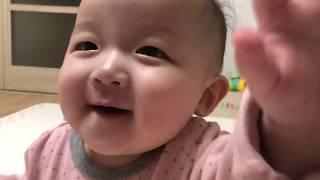 첫 니나는 시기 생후7개월 / 아랫니 / 까꿍놀이 / …