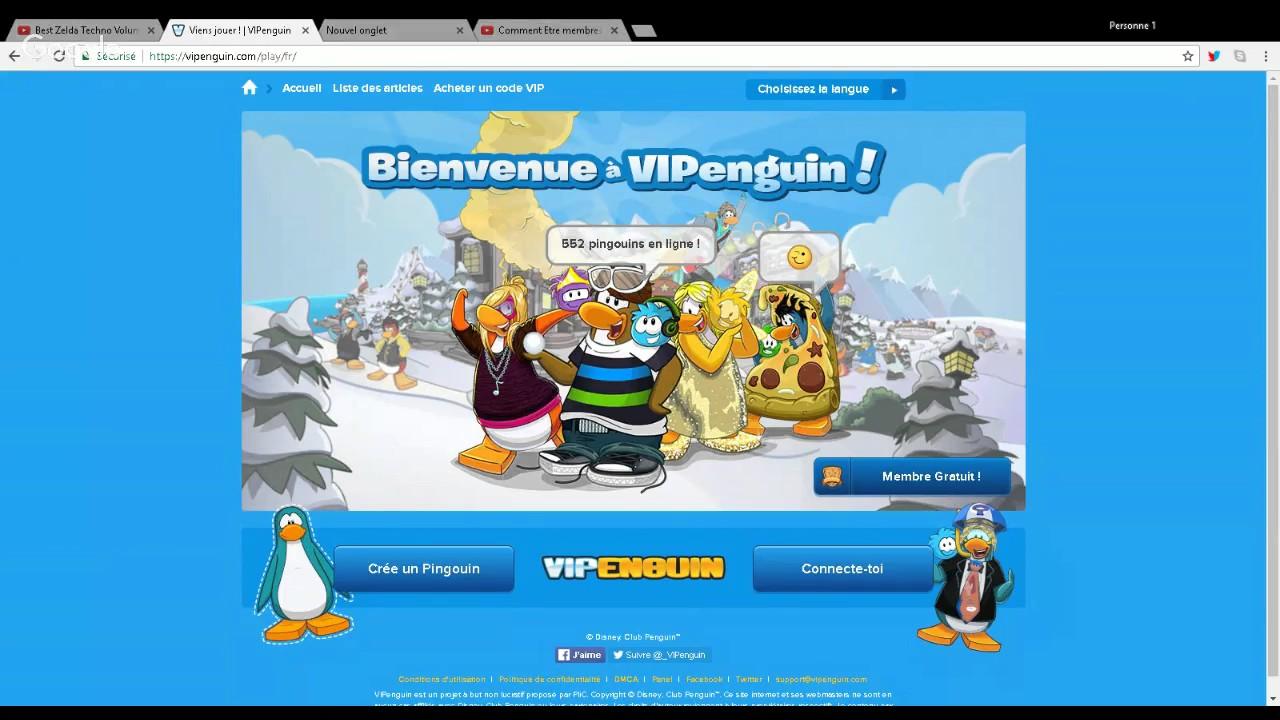 Comment etre membres gratuit sur club penguins youtube - Club penguin gratuit ...
