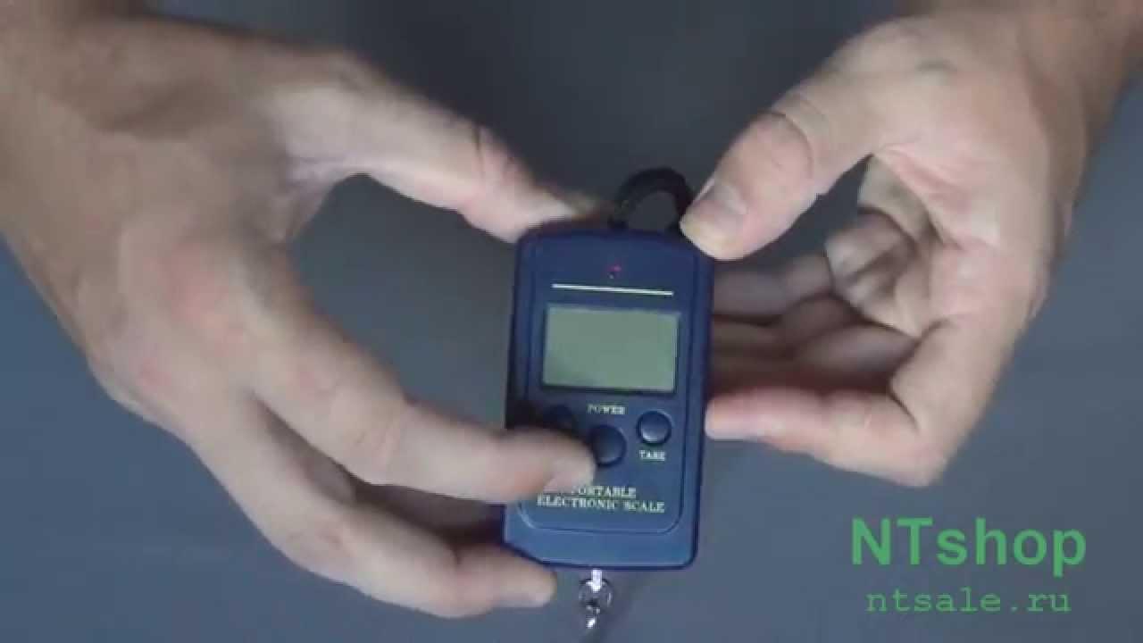 Цифровые электронные весы кантер WH-A08 50 кг. Видео обзор весов .