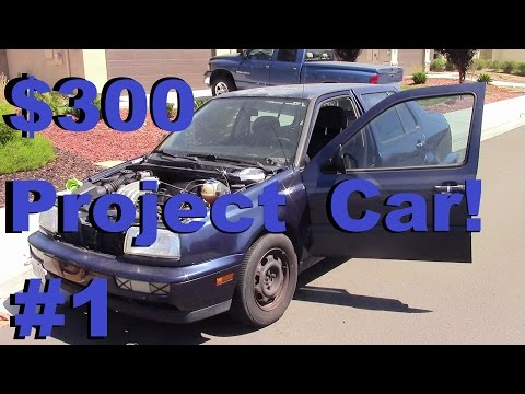 The $300 Project Car – Episode 1 – Starting the Boser Hood and Breaking Things