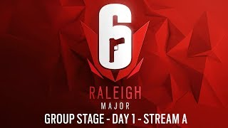Rainbow Six | Six Major Raleigh 2019 – Group Stage – Day 1 – Stream A