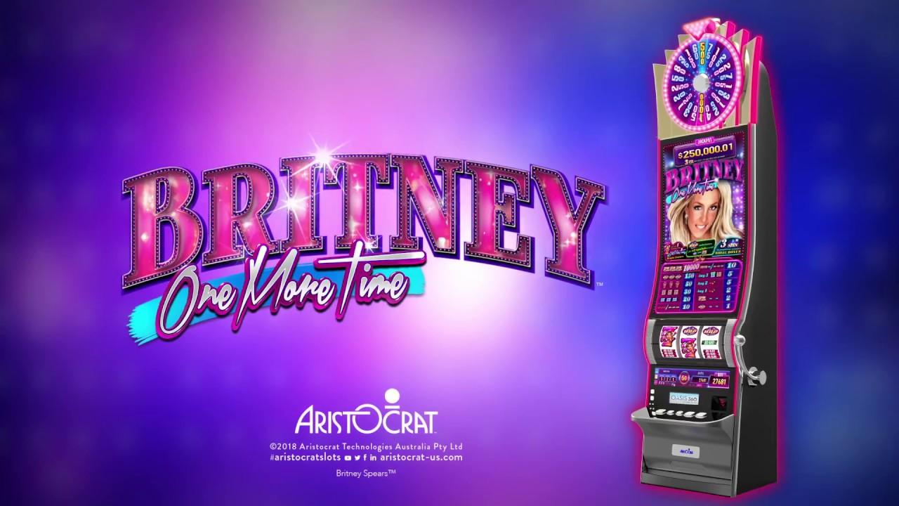 Resultado de imagem para britney one more time slot machine