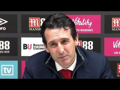 Bournemouth 1-2 Arsenal - Unai Emery Full Post Match Press Conference - Premier League