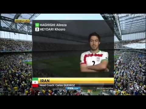 Iran vs Nigeria 2014 World Cup