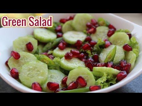 Green Salad-Quick And Easy Salad Recipe-Reebz World