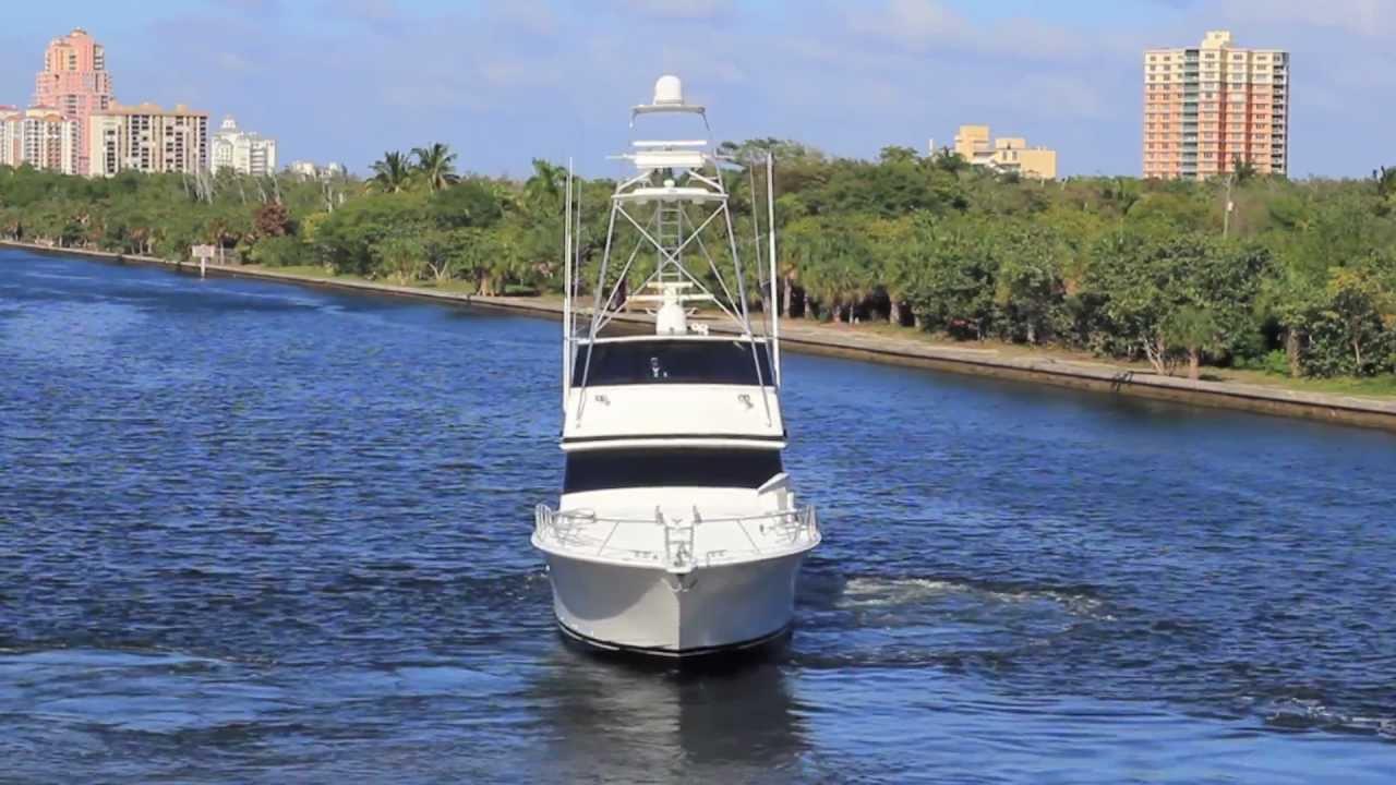 1997 Viking Yachts 72 Convertible