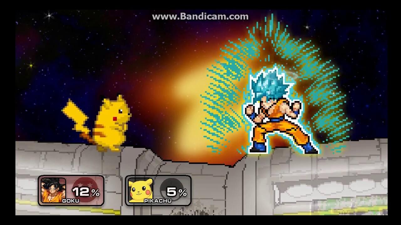 SSF2 mod Broken Goku DBS (Now have link) by The Destoroyah