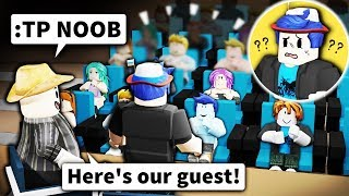 I used Roblox ADMIN to make a TALK SHOW... and pretended noobs were celebrities