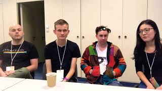 Devcon 4 - Interview with Vitalik Buterin and Lighthouse team on Ethereum 2.0/Serenity