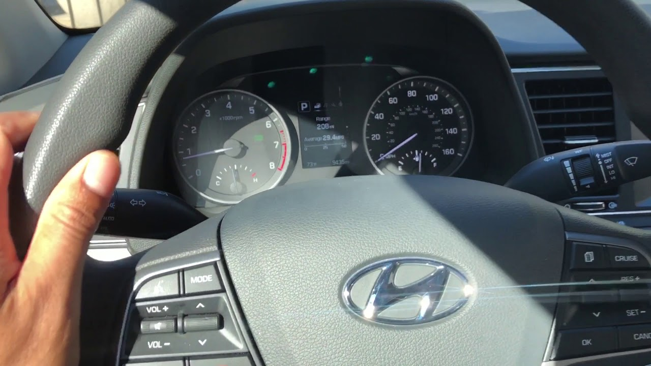 How To Brighten Dim The Instrument Panel In Hyundai Elantra