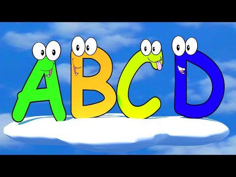♫ La Chanson de l'Alphabet ♫ French ABC Song ♫ French Alphab