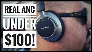 Anker Soundcore Space NC Noise Cancelling Bluetooth Headphones Review (2018)