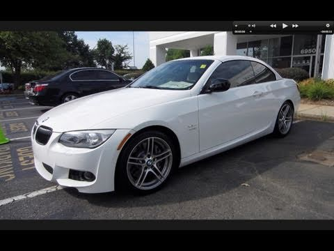 2011 BMW 335is Convertible Start Up, Exhaust, and In Depth Tour