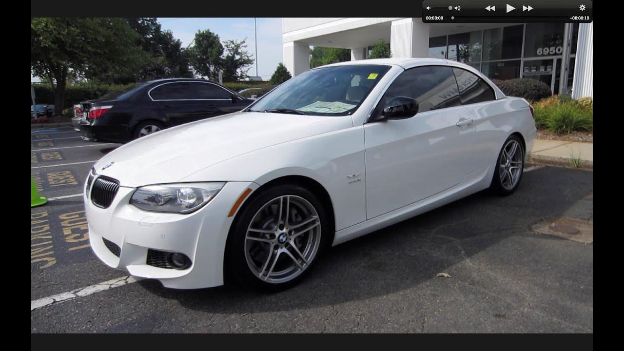 2011 Bmw 335is Convertible Start Up Exhaust And In Depth