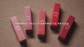 SUNNIES FACE FLUFFMATTE REVIEW | winnymanlim