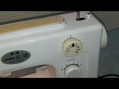 Hướng dẫn sử dụng máy May gia đình Juki HZL500
