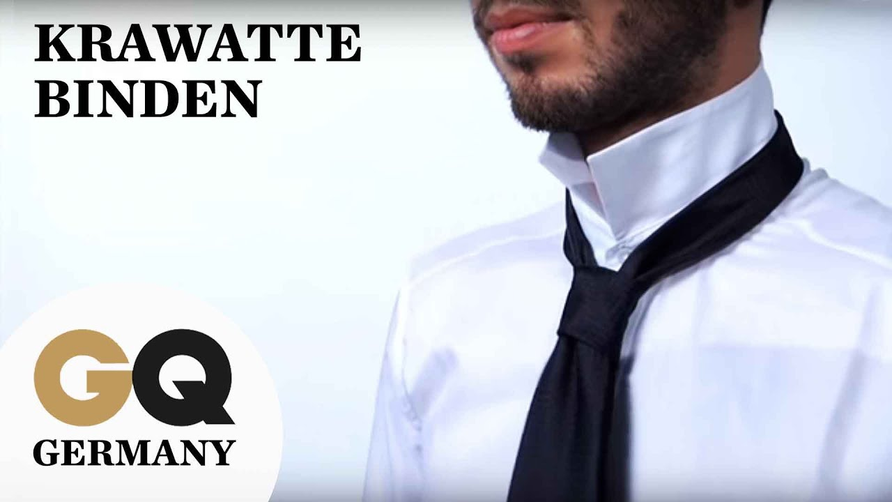 how to krawatte binden f r anf nger gq style tutorial youtube