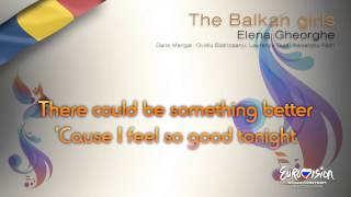Elena Gheorghe - &quotThe Balkan Girls&quot (Romania)