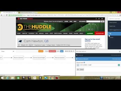 Web Scraping Sunday  Extracting Fantasy Football Data