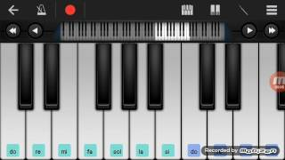 Not Piano - Lagu Anak Sayonara (Walk Band Tutorial) Tutorial Piano