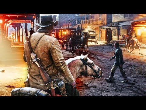 MY HORSE WANTS TO KILL ME - RED DEAD REDEMPTION 2 WALKTHROUGH PART 1 & PART 2 thumbnail