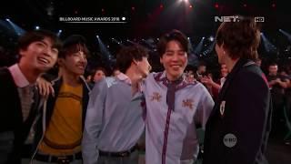 BTS (Speech) WIN TOP SOCIAL ARTIST On Billboard Music Awards 2018 [Rerun] [INDO SUB] [HD] - bts skit billboard music awards speech