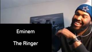 Eminem - The Ringer (Lyrics) - REACTION/REVIEW