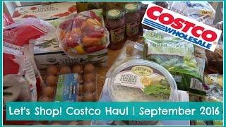 let s shop costco haul   september 2016