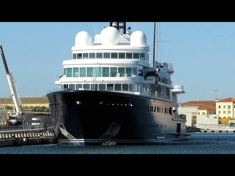 Mega Yacht Le Grand Bleu [HD]