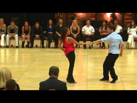 Ben Morris & Torri Smith - 1st Place 2012 Phoenix July 4th Champions Strictly Swing