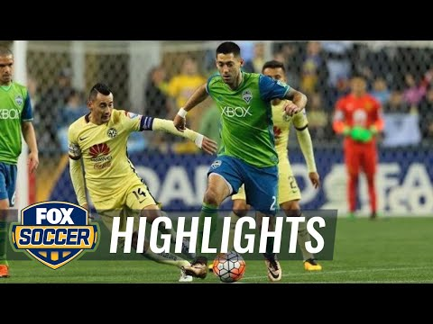 Seattle Sounders vs. Club America | CONCACAF Champions League Highlights