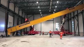 Satateras – Overhead crane delivery