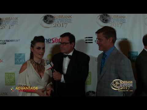 Jennifer & Casper Interviewed By Jeff Rector at the Burbank International Film Festival