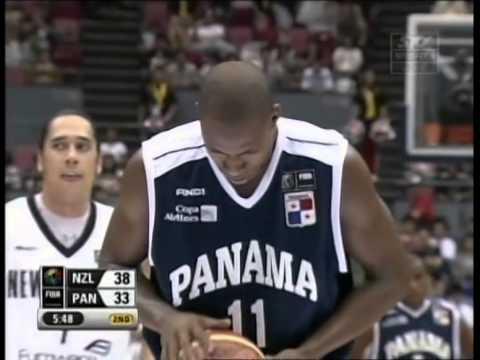 2006 FIBA World Champs Tall Blacks vs Panama - Group B - 24th August