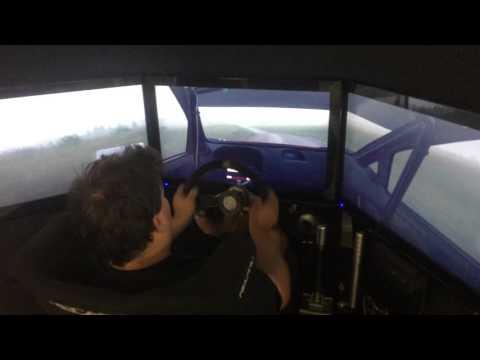Rally driver plays DiRT Rally