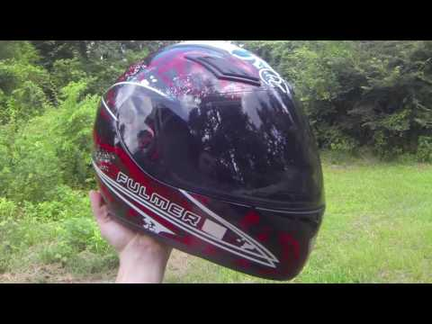 Fulmer AF SS helmet light smoke faceshield install and review