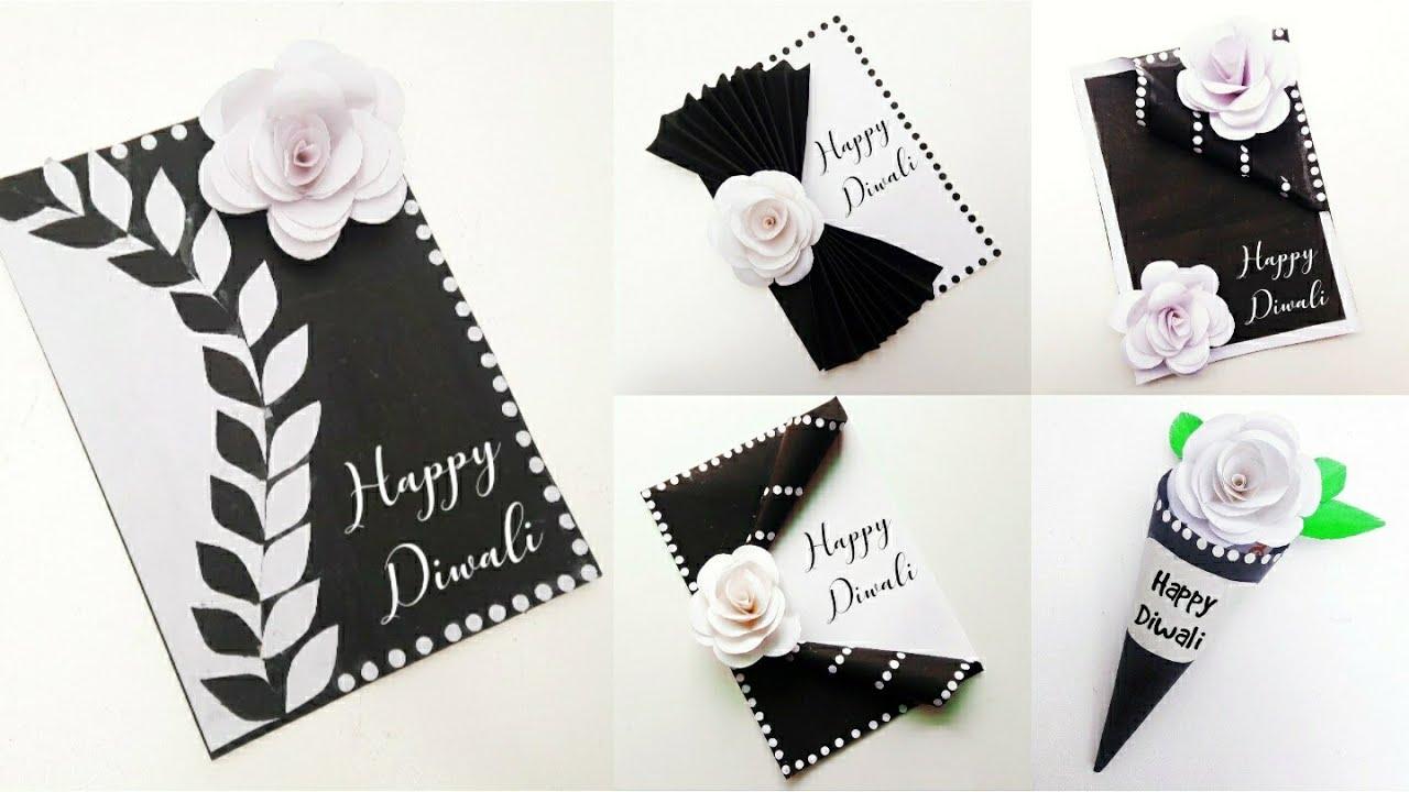 5 easy diwali greeting card making diy diwali greeting