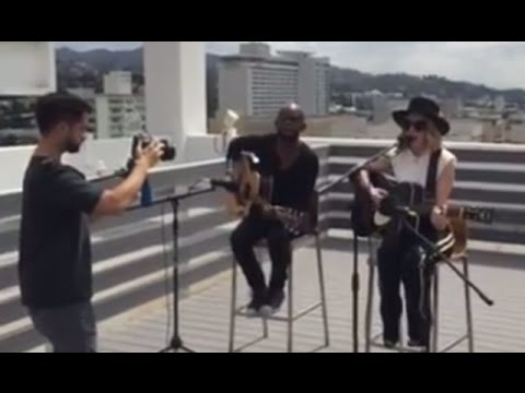 ZZ Ward - Love 3X Performance on Live Nation Rooftop in Hollywood