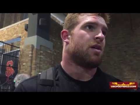 Cam Smith reacts to USC's loss to Notre Dame