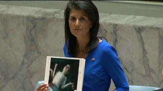 Haley: Chemical attack bears the hallmarks of Assad regime