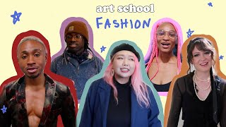 what art students are ACTUALLY wearing (scad)