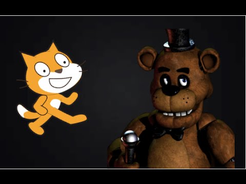 How To make a FNAF Game in Scratch Part 1| Menu, mask, and cameras!|