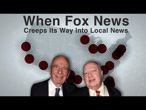 When Fox News Creeps Its Way Into Local News Youtube